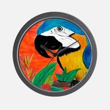 Parrot Head Wall Clock