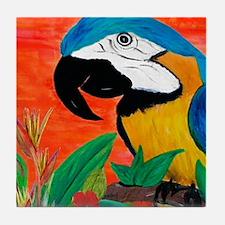 Parrot Head Tile Coaster