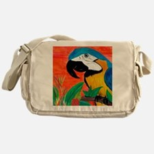 Parrot Head Messenger Bag