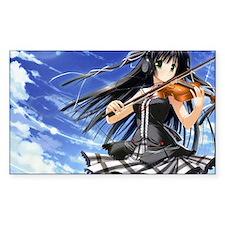 Anime Violin Decal