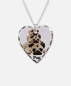 Crazy Pug Lady Necklace