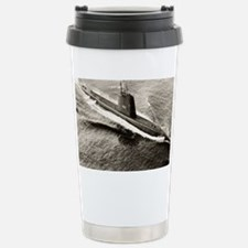 uss sea fox framed panel print Travel Mug