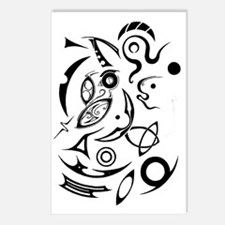 Abstract Primordial Soup Postcards (Package of 8)
