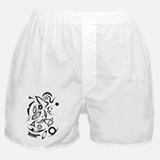 Abstract Primordial Soup Boxer Shorts