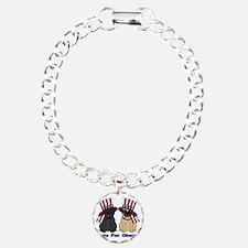 Pugs For Obama Bracelet