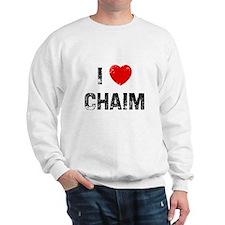 I * Chaim Sweatshirt