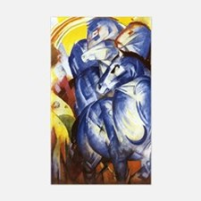 Franz Marc The Tower of Blue H Decal