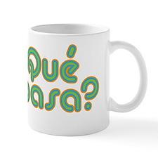 Que Pasa Green Mug
