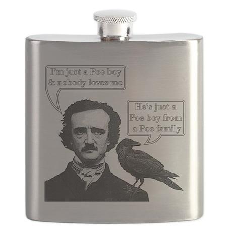 I'm Just A Poe Boy - Bohemian Rhapsody Flask