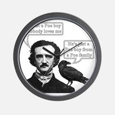 I'm Just A Poe Boy - Bohemian Rhapsody Wall Clock