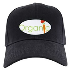 Organic Carrot and Tomato Baseball Hat