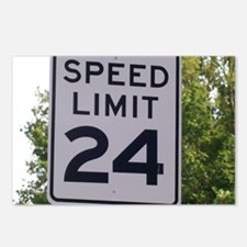 Speed Limit Sign Postcards (Package of 8)