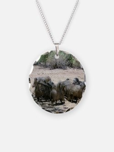 javelina - desert wild pigs Necklace