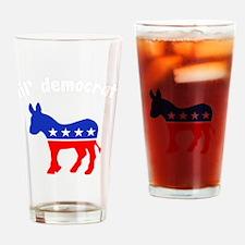 lil_democratDK Drinking Glass