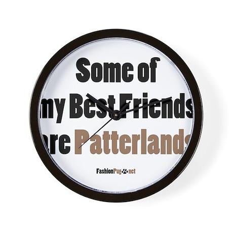 Patterland dog Wall Clock