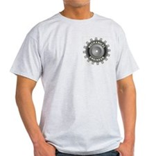 Mechanical Engineer Gray Pocket T-Shirt