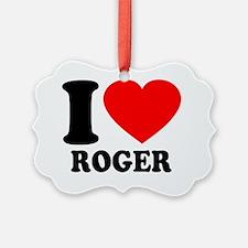 Federer Ornament