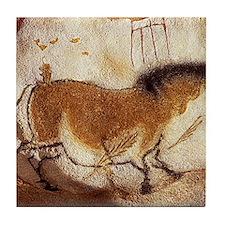 Lascaux Hose Painting Tile Coaster