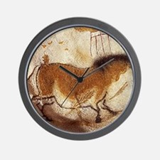 Lascaux Hose Painting Wall Clock