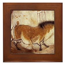 Lascaux Hose Painting Framed Tile