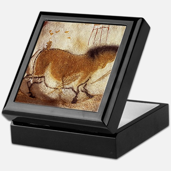 Lascaux Hose Painting Keepsake Box
