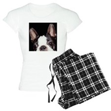 BOSTON TERRIER, CLOSE-UP pajamas