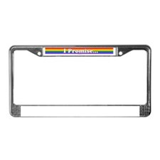 Promise Notepad License Plate Frame