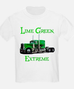 Lime Green Extreme Kids T-Shirt