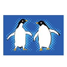 Dancing Penguins Postcards (Package of 8)