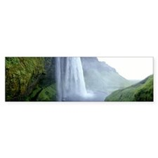 SELJALANDFOSS, WATERFALL, ICELAND Bumper Sticker