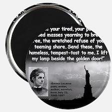 Lazarus Liberty Quote 2 Magnet