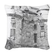 Once upon a time...... Woven Throw Pillow