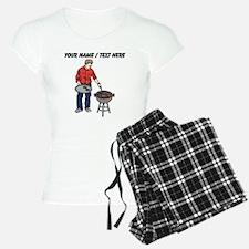 Custom Man Grilling Pajamas
