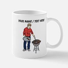 Custom Man Grilling Mugs