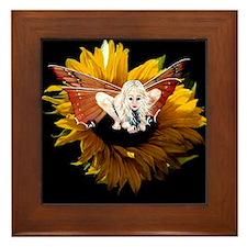 Cute Fairy totes Framed Tile