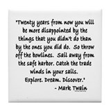 Mark twain quotes Drink Coasters