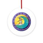 Tidal Dog Ornament (Round)