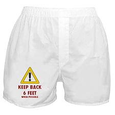 yield sign Boxer Shorts