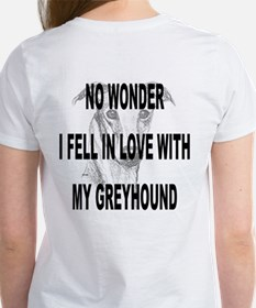 I LOVE GUYS WOMEN'S WHITE TEE
