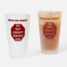 stop sign Drinking Glass