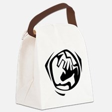 00255_Earth.gif Canvas Lunch Bag