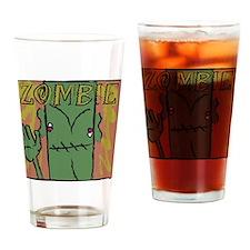 Hi Zombie Drinking Glass