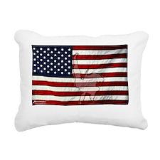 American Judo Rectangular Canvas Pillow
