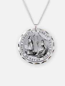 North Carolina State Seal Necklace