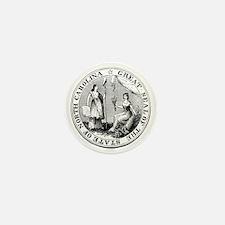 North Carolina State Seal Mini Button