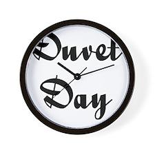 Duvet Day Wall Clock