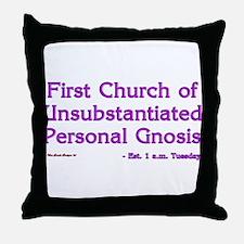 Church of UPG Throw Pillow
