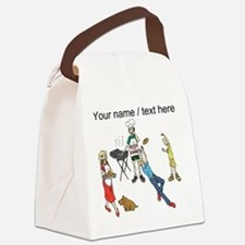 Custom Family Cookout Canvas Lunch Bag