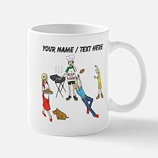 Custom Family Cookout Mugs