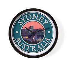 Sidney, Australia Wall Clock